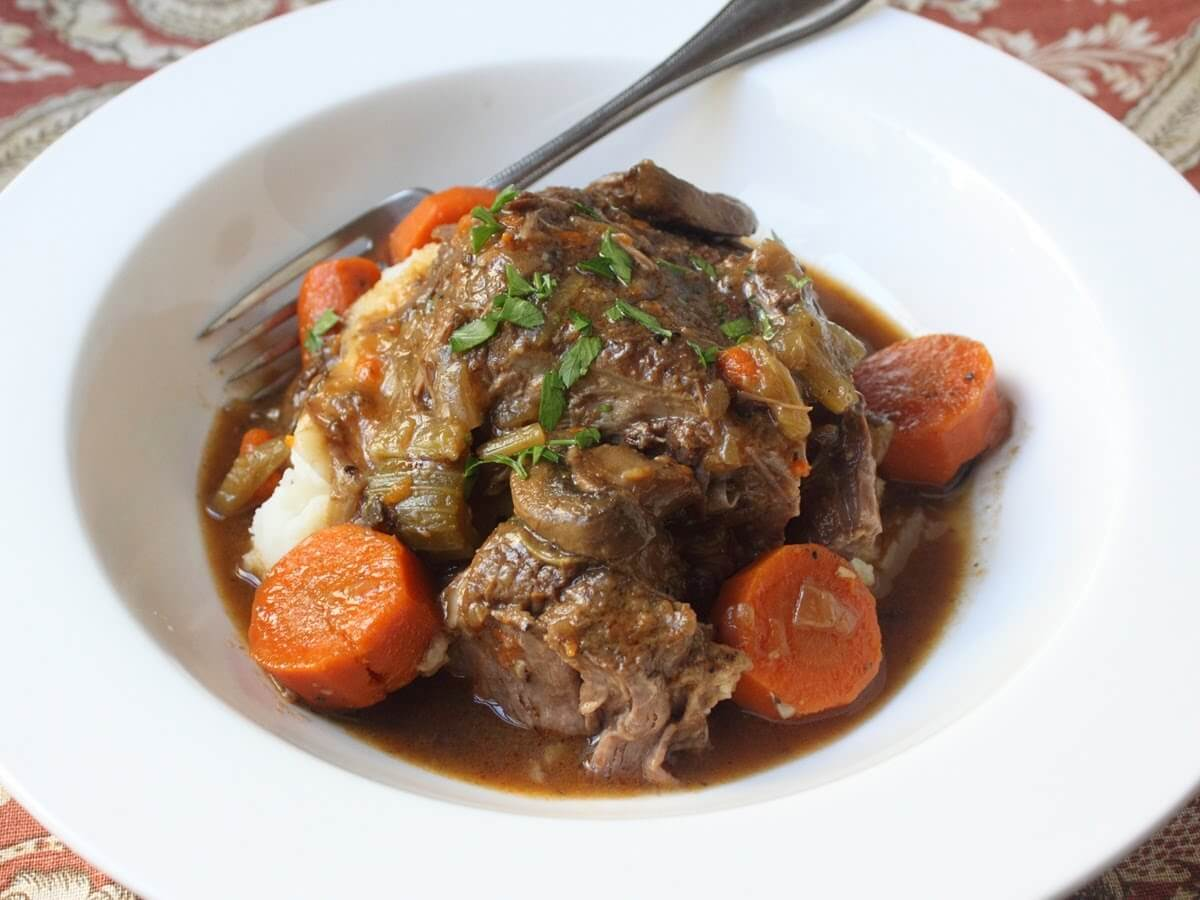 simmering cooker beef pot roast page 2 of 2 healthy recipes